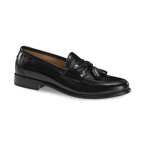 docker loafers dockers lyon tassel loafers in black for lyst