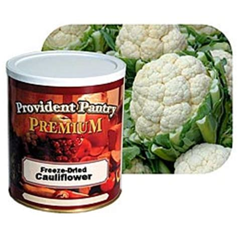provident pantry 174 freeze dried cauliflower pearls 4 5 oz