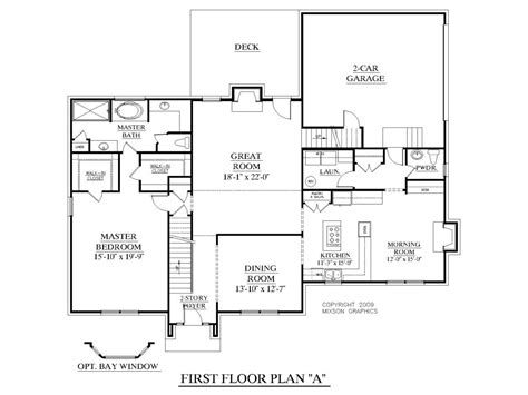 house plans with master on st floor and houses bedroom