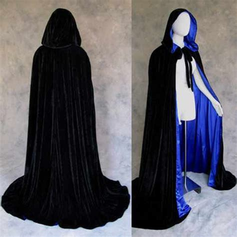 Gamis 33866 Medyana Pink Syari lined black blue velvet cloak cape wedding wicca