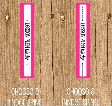 6 Sle Binder Spine Templates Sle Templates 1 1 2 Binder Spine Template