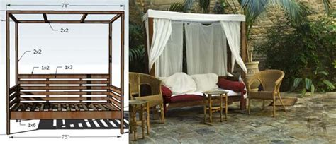 Kitchen Nook Furniture Set diy outdoor daybed with canopy