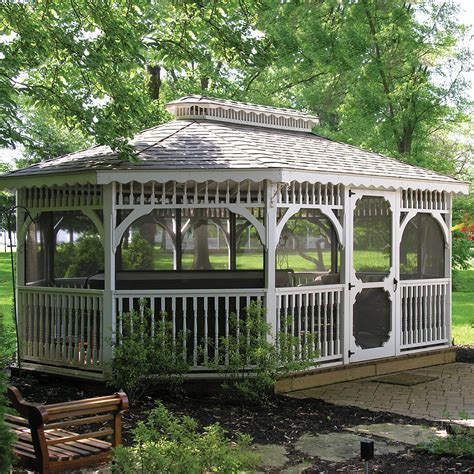 outdoor gazebo kits patio or garden gazebo kits wooden outdoor screened