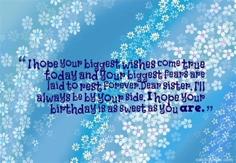 56 Birthday Quotes Top 60 Images About Sweet Birthday Wishes For Sister Quotes
