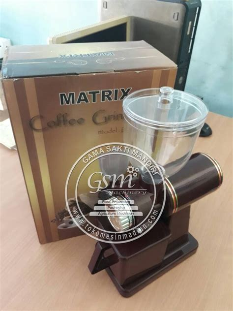 Harga Matrix Mini mesin giling kopi mini matrix toko alat mesin usaha