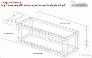 built in bench plans follow these step by step