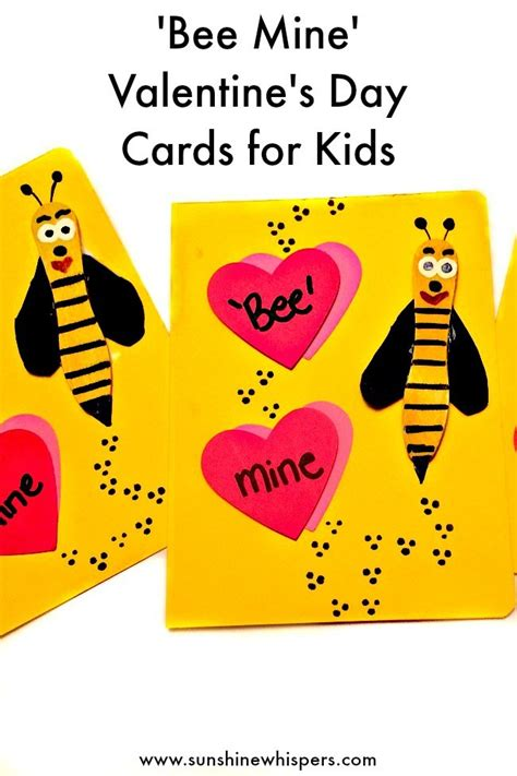 bee mine card template adorable bee mine s day cards for