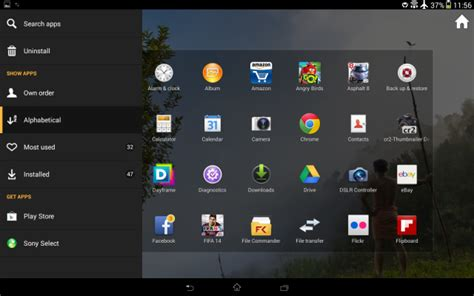 screenshot android tablet xperia tablet z android 4 3 screenshots update xperia