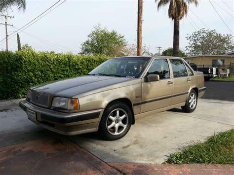 auto air conditioning service 1993 volvo 960 on board diagnostic system sell used 1993 volvo 850 glt sedan 4 door 2 4l in rialto california united states