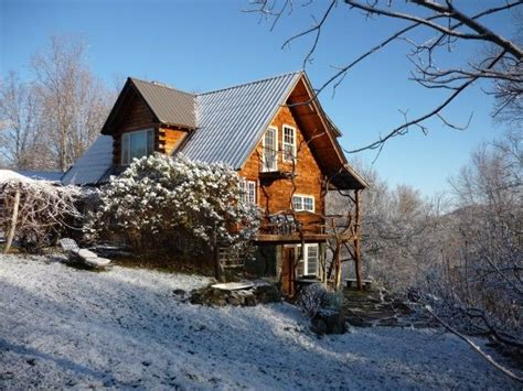 Log Cabin Vacation Rentals In Vermont by And Artistic Log Cabin Bring Your Vrbo