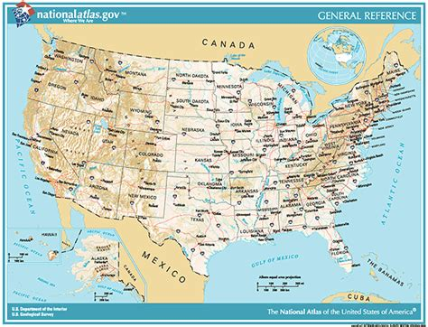 small map of the united states printable maps reference