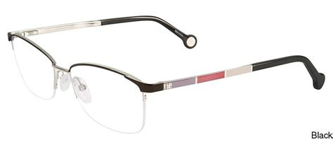 buy carolina herrera vhe077k semi rimless half frame