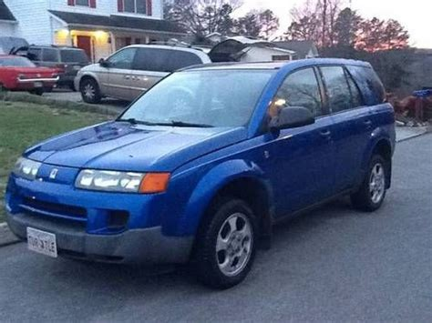 sell used 2003 saturn vue no reserve great engine and