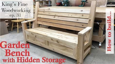 how to make a patio bench 31 how to build garden bench with a storage