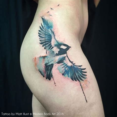 watercolor tattoos uk abstract and graphic tattoos by matt hunt birmingham uk