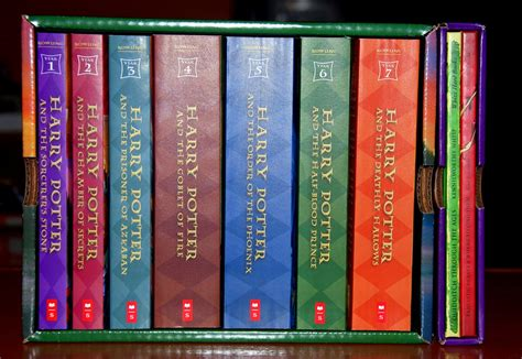 picture of harry potter books travel factor harry potter books