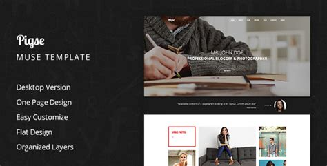 muse templates photography pigse photography muse template traclaborat