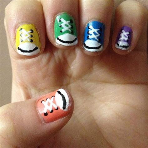 Nail art couture converse nail art