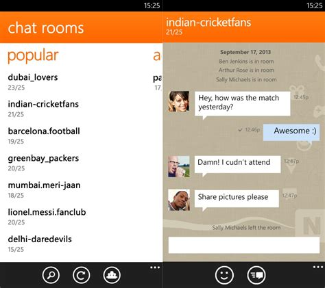 Phone Chat Room by Nimbuzz Messenger Free For Windows 8 Softportland