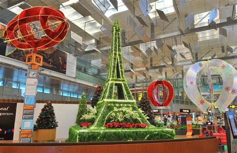 home decor from around the world changi airport gets in the christmas spirit