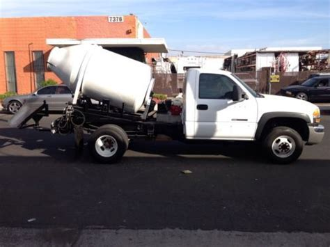 Mixer Gmc sell used 2004 gmc 3500 2 yard concrete mixer in california united states
