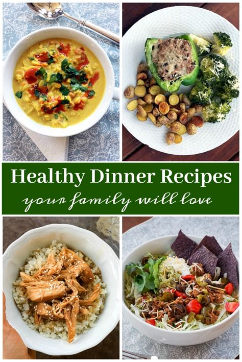dinner recipes healthy dinner ideas and recipes your family will