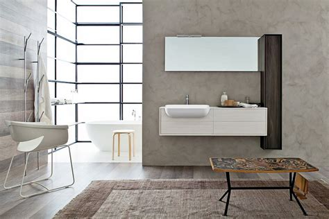 Modern Italian Bathrooms Libera Bringing Snaidero S Craftsmanship To Posh Modern Bathrooms