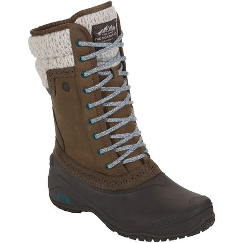 northface womans boots the shellista ii mid insulated boots s