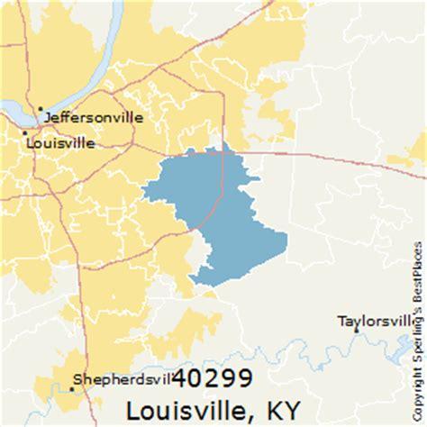 zip code map louisville best places to live in louisville zip 40299 kentucky