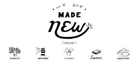 2 corinthians sermon series we are made new church sermon series ideas