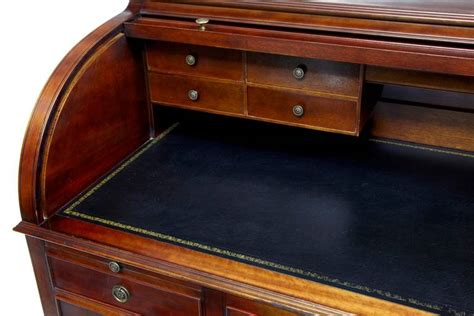 large 1920s mahogany roll top desk writing table at 1stdibs
