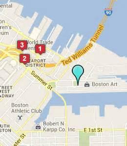 Boston Terminal Map by Hotels Near Boston Massachusetts Cruise Terminal