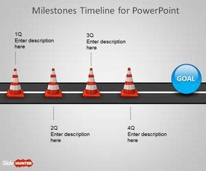 powerpoint milestone template free milestone shapes timeline for powerpoint is a