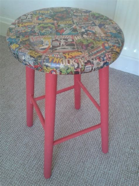 Decoupage Stool - 104 best images about decoupage it on sheet