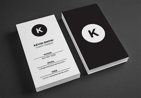 Kartu Nama Desain Hitam Putih | mau bikin kartu nama lihat contoh desain kartu nama disini