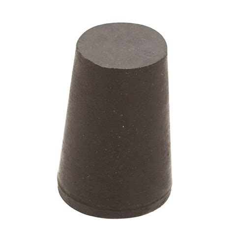 Home Decor Storage Boxes everbilt 1 1 4 in x 1 in black rubber stopper 808278