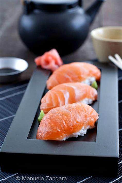 Salmon Sushi salmon nigiri recipe salmon roll sushi lunch and sushi