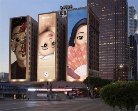 apple musics  memoji billboards highlight grammy