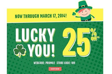 st patricks day freebies 2014 coupon codes sales st patrick s day freebies 2014 coupon codes sales