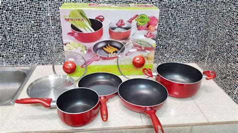 Supra Rosemary Cookware Set Ungu jual panci set supra 7pcs cookware set 7pcs supra