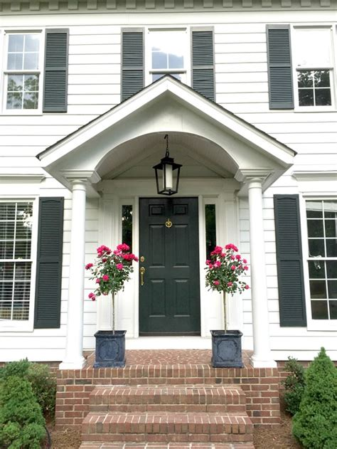 colonial front porch designs better homes and gardens archives emily a clark