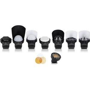 spinlight 360 portrait modular system for on camera flash