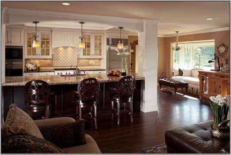 kitchen living room open concept kitchen and living rooms home combo