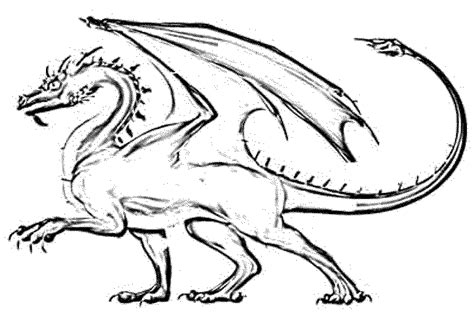 dragon coloring pages for kids     BestAppsForKids.com