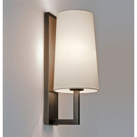 Bronze Wall Lights Astro 7023 Riva 350 Bronze Finish Wall Light