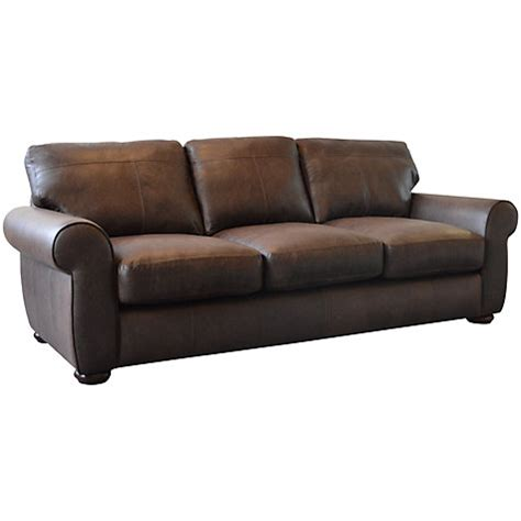 semi aniline leather sofa buy lewis semi aniline grand leather sofa colorado lewis