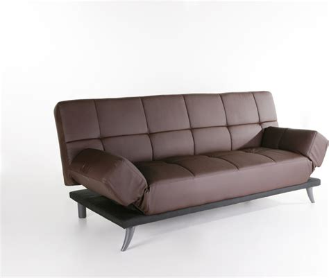 Plush Leather Sofa Abbyson Living Plush Leather Convertible Sofa
