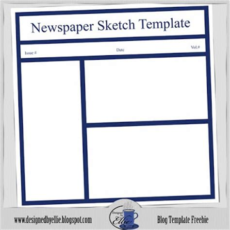 free newspaper article template add your articles