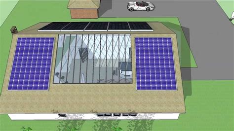 sustainable house 3d sustainable house sustainable house myp personal project eco friendly house youtube