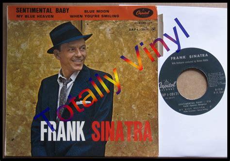 frank sinatra my blue heaven vinyl totally vinyl records sinatra frank ep sentimental